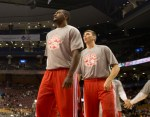 Patterson and Hansbrough warmups Paul Saini FYLMM