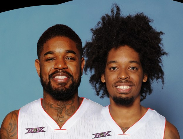 TOR Nogueira and Amir Johnson