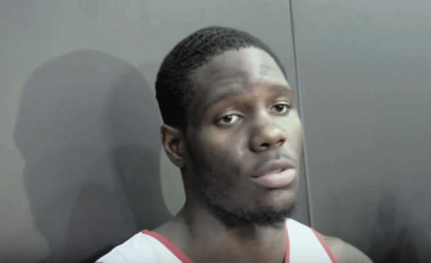 Anthony Bennett scrum
