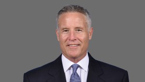 NBA Philadelphia 76ers head coach Brett Brown