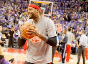 NBA Toronto Raptors James Johnson smiles by Paul Saini FYLMM