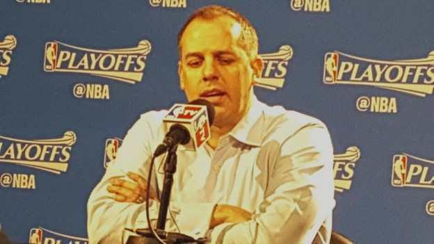 Indiana Pacers Frank Vogel 2016 NBA playoffs