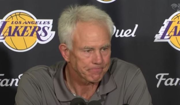 NBA Los Angeles Lakers Mitch Kupchak