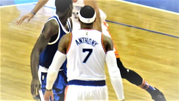 NBA New York Knicks Carmelo Anthony