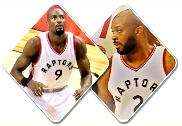 NBA Toronto Raptors Serge Ibaka and PJ Tucker