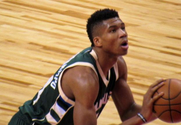 NBA Milwaukee Bucks Giannis Antetokounmpo