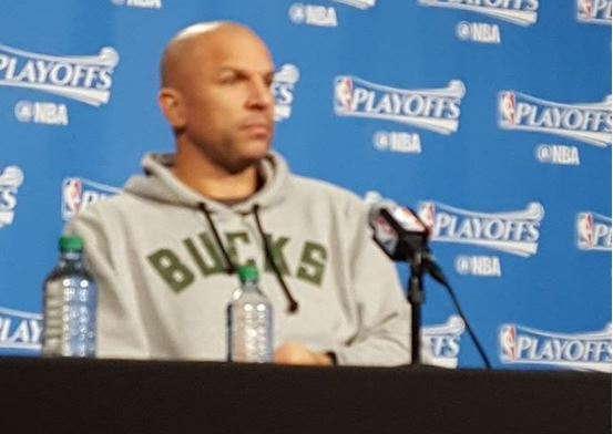 NBA Milwaukee Bucks Jason Kidd