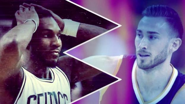 NBA Boston Celtics Jae Crowder and Utah Jazz Gordon Hayward