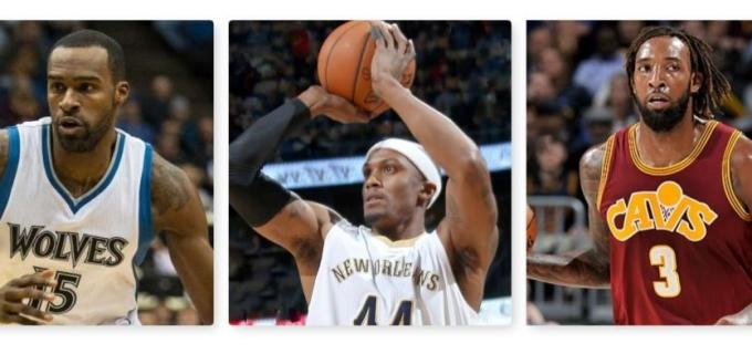 NBA free agent collage