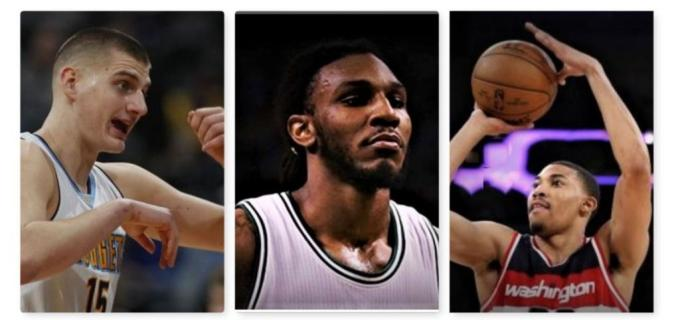 Denver Nuggets Nikola Jokic and Cleveland Cavaliers Jae Crowder and Washington Wizards Otto Porter