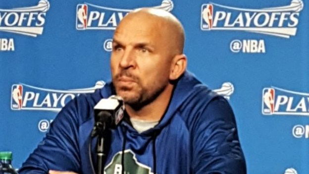 NBA Bucks coach Jason Kidd