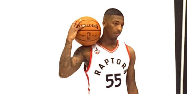 NBA Toronto Raptors Delon Wright