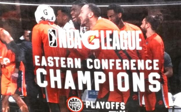 NBA G League Raptors 905 East Champs