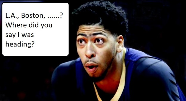 NBA New Orleans Pelicans Anthony Davis