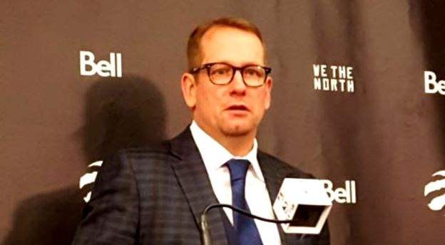 Toronto Raptors head coach Nick Nurse