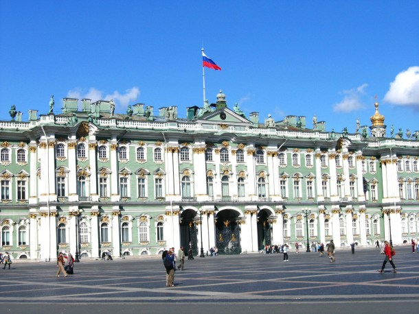 What to do in St. Petersburg in 1 day? Check out the famous Hermitage Museum in St. Petersburg, one of the largest collections of paintings in the world.