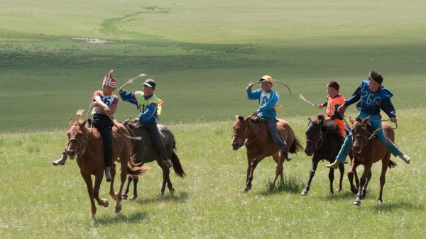 the Nadaam festival is on of the top things to do in Mongolia