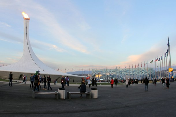 Sochi 2014 Winter Olympic flame