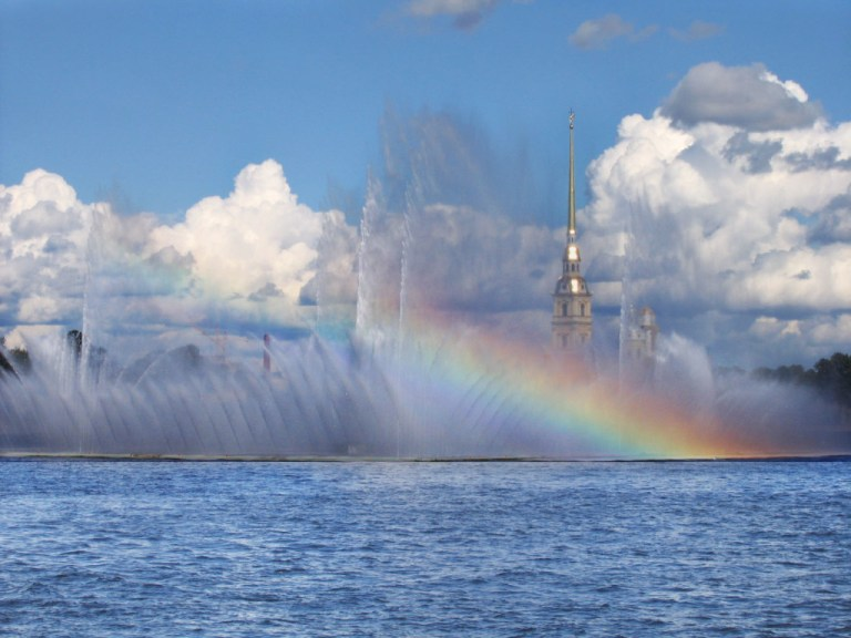 View of Zayachy Island from the Neva river St Petersburg, one of the things you must do when you have 1 day in St. Petersburg
