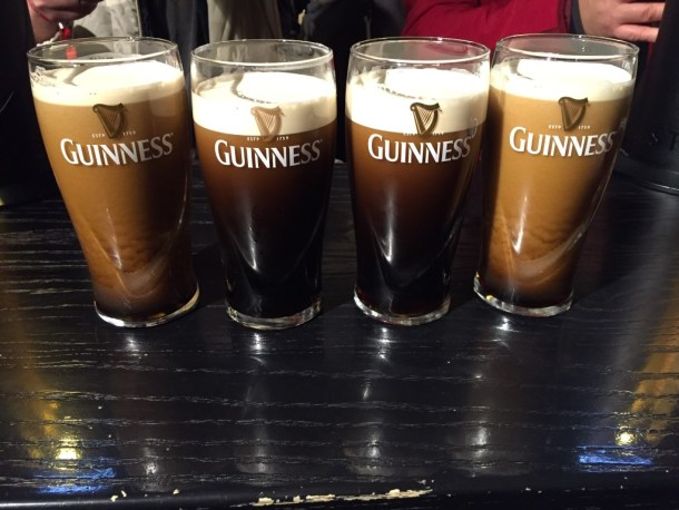go to Dublin in December and visit Guinness Storehouse