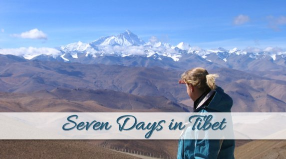 7 days in Tibet, my personal experiences
