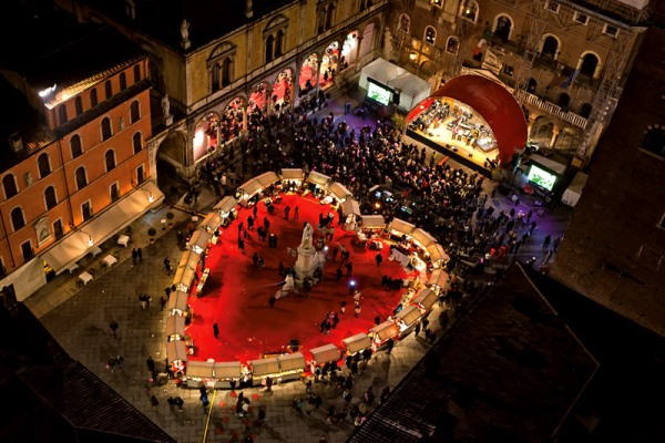 Verona is in the top 5 of Romantic Valentine's day destinations in Europe. Wander around the streets of fair Verona where Shaekspeare laid his play of Romeo and Juliet.