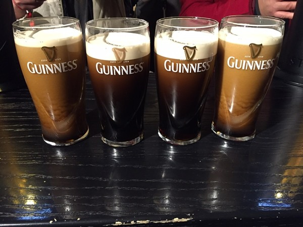 costs for a weekend in Dublin