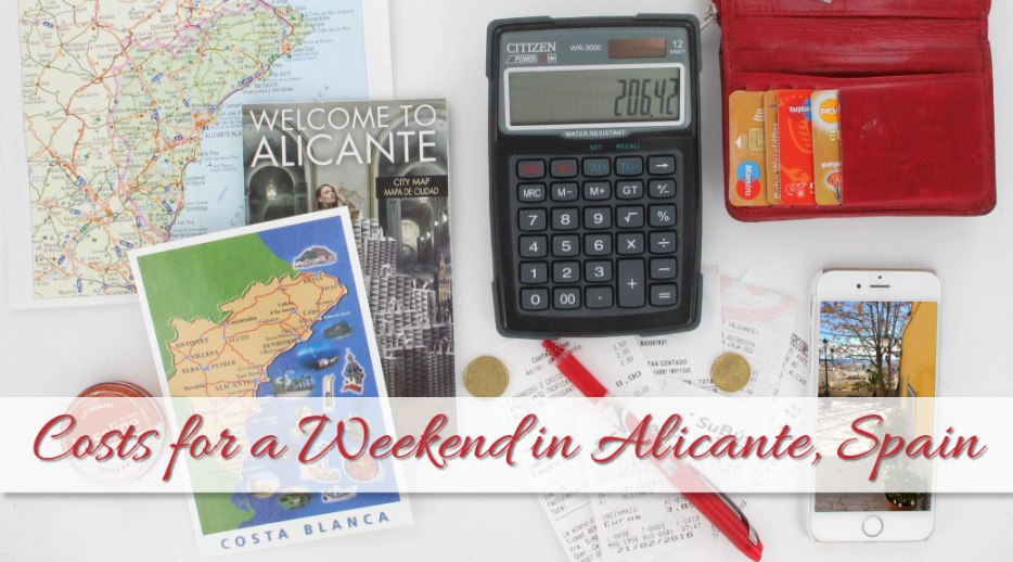 costs for a weekend in alicante spain probe around the globe