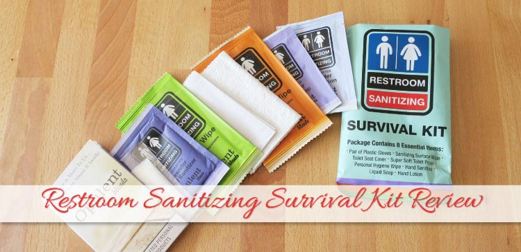 The Restroom Sanitizing Survival Kit makes your bathroom visit a little bit more hygienic. Useful for travelers and people with Crohn's, so I tested one and wrote a review for you.