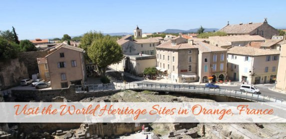 World Heritage: See Thriumphal Arch and Roman Theatre of Orange France