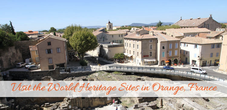 Orange is a city in the South of France. The Ancient Roman Theatre and the Roman Triumphal Arch are two of the World Heritage Sites in Orange which you have to visit.