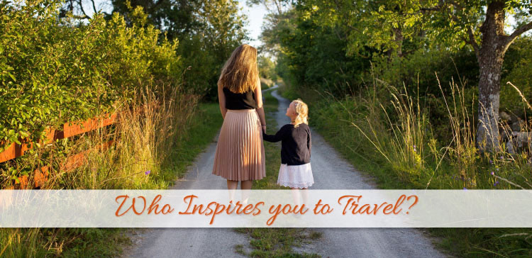 Celebrities can inspire you in many ways. But which celebritiy really inspires you to travel? I give you my top list of celebrities who inspire to travel