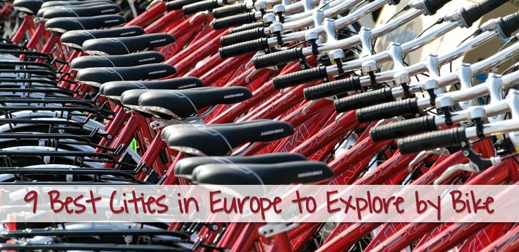 9 Best cities in Europe to explore by bike