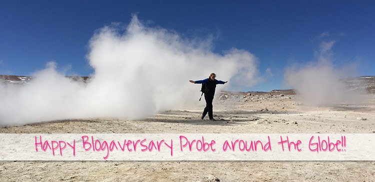 My travel blog Probe around the Globe is 1 year old. Happy Blogiversary to Probe around the Globe! I share my experiences of 1 year travel blogging