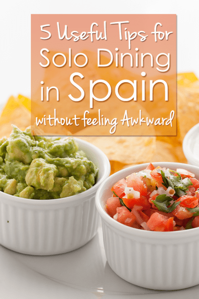Spanish food culture is based on sharing. As a solo traveller in Spain, you can feel akward dining solo. Here are my tips for eating out alone in Spain.