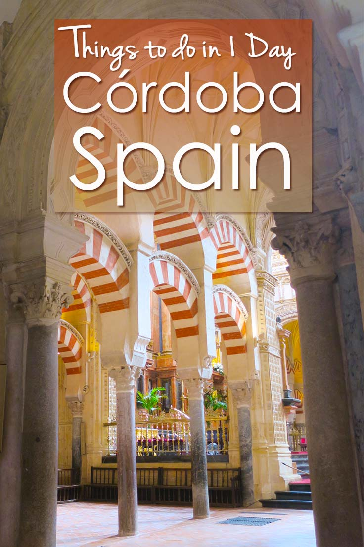 Cordoba in southern Spain is not as famous as Seville or Granada, so should you stay longer than one day in Cordoba Spain? I give you the things to do in Cordoba in one day so you can plan your one day itinerary for Cordoba and make the most of your day trip to Cordoba.