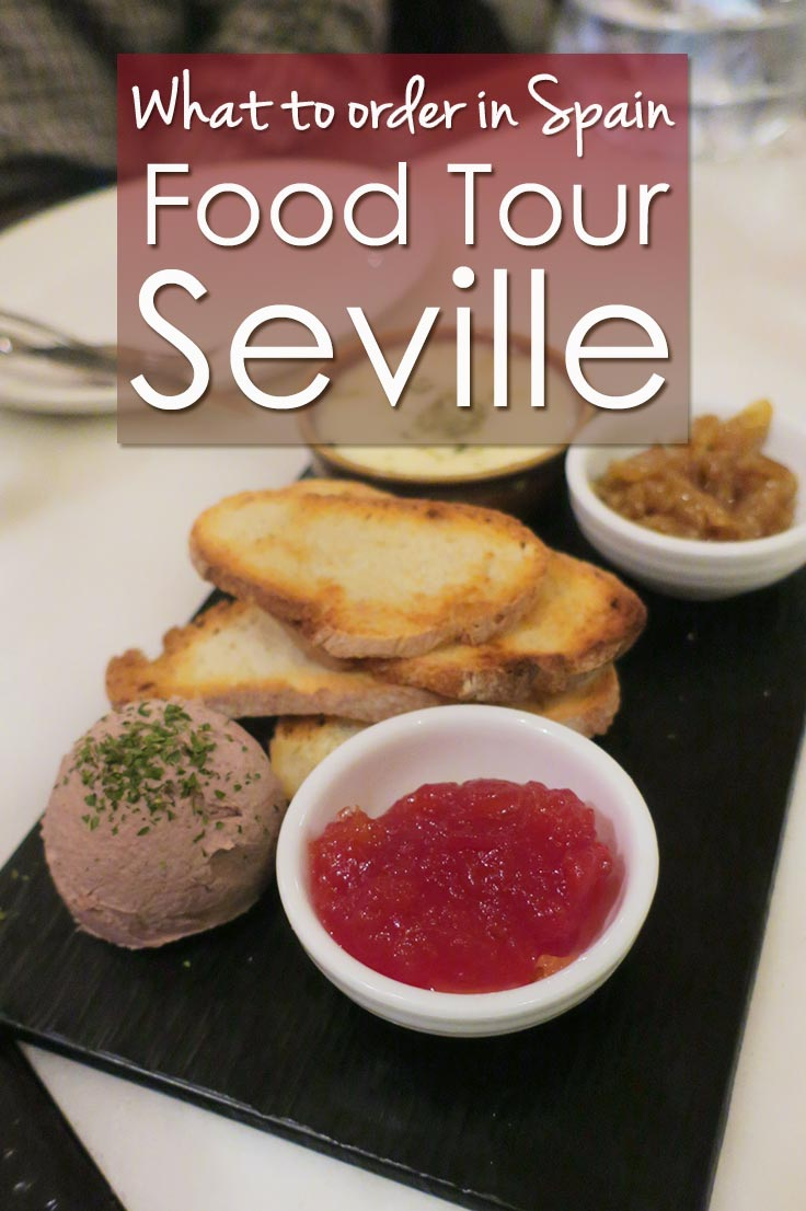 What to order when you travel to Seville Spain? Join a Seville Food Tour and taste interesting tapas and wines from Seville