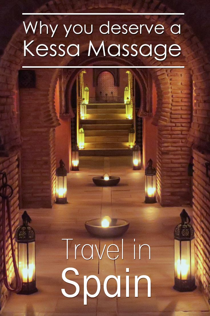 What is a traditional Kessa Massage and where to get it? I share the reasons why you deserve a Kessa massage at the hammam in Granada Spain. Read all about it.