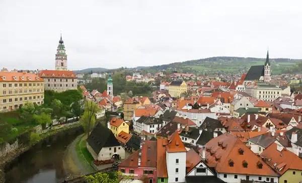 Day trip from Prague – Train to Cesky Krumlov