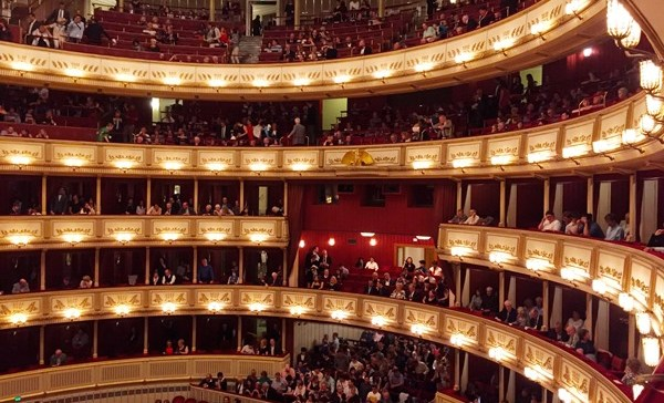 How I Bought Cheap Vienna Opera Tickets and Sidn't See Anything