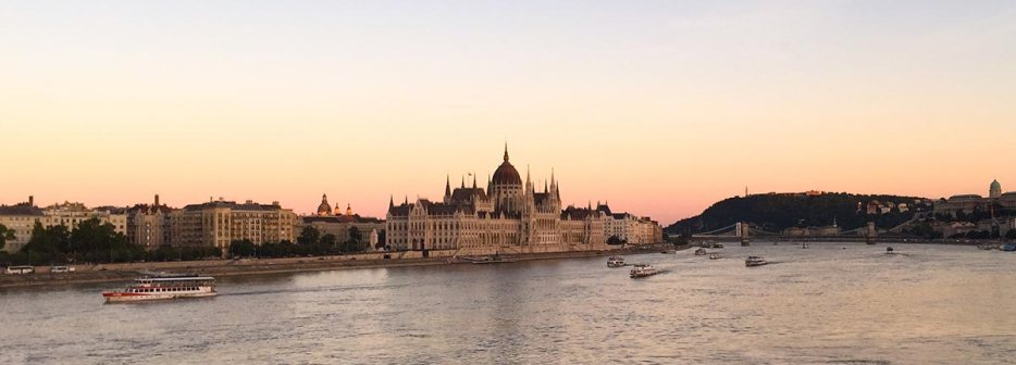 Experience the modern Orient Express. I travelled by train from the Netherlands to Istanbul Turkey to follow this famous train route across Europe. A Stop in Budapest to see the parlement at sunset.