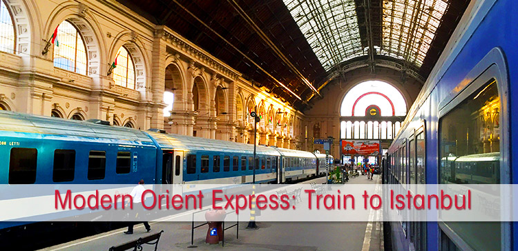 Experience the modern Orient Express. I traveled by train from the Netherlands to Istanbul Turkey to follow this famous train route across Europe.