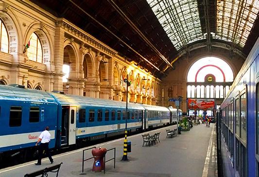 Modern Orient Express – train from Netherlands to Istanbul Turkey