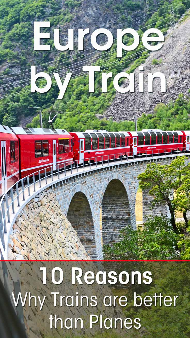I had a great time during my travel by train across Europe. I give you 10 persuasive reasons that will make you want to try train travel in Europe too!