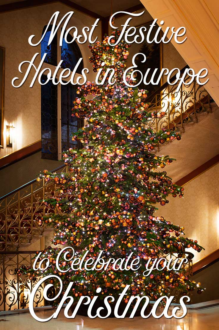 Will you travel Europe to visit Christmas Markets? Where to have the best Christmas vacation? I give you 17 festive Christmas hotels in Europe for December