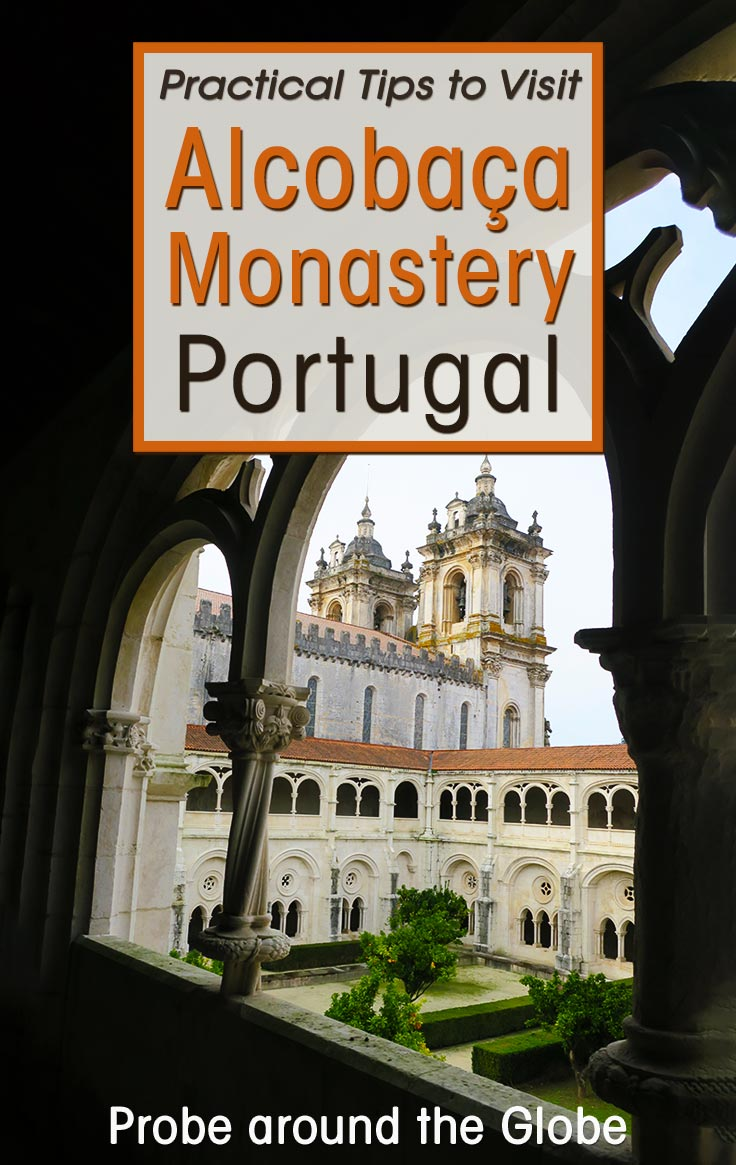 Explore the amazing monasteries of Alcobaca, Batalha and Tomar Convent of Christ in #Portugal. Read about the Heritage Trail and why you should visit. I'll give you a ton of practical tips to visit these monasteries in Portugal from Lisbon.