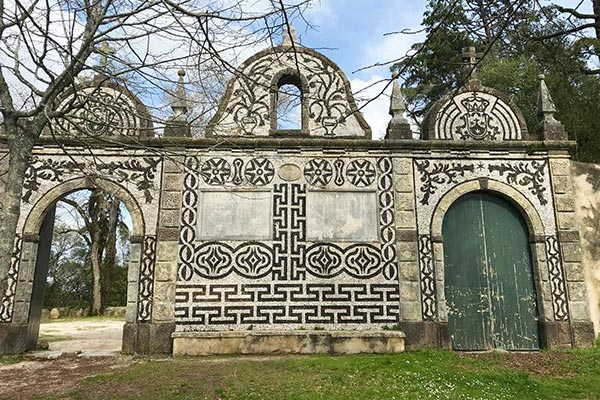 Bussaco Forest Portugal - Coimbra gate