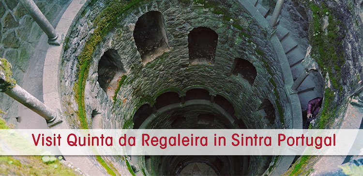 The Quinta Da Regaleira In Sintra Portugal Is A Mythical Palace With Gothic Features Underground