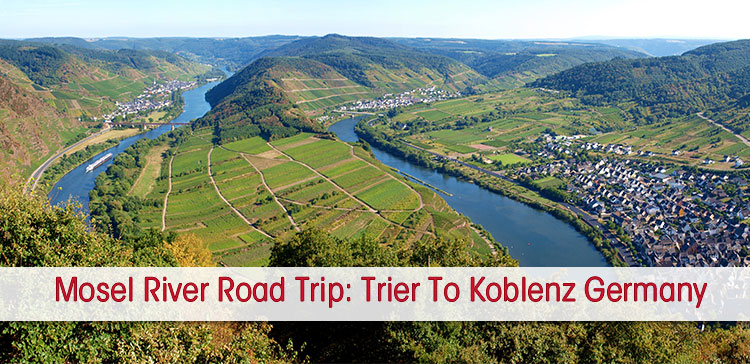 The Mosel Valley (Germany) means castles, wine and river views. I offer the best Mosel River road trip stops from Trier to Koblenz on a 3 or 5-day itinerary