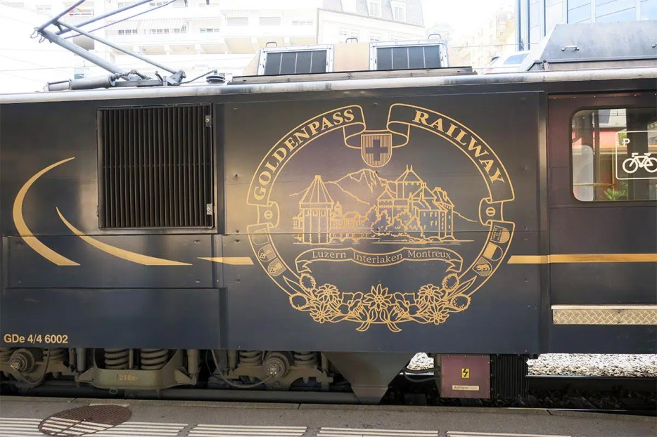 Discover typical stereotype Switzerland on the scenic Golden Pass train route from Montreux to Lucerne. Read what to expect on the Golden Pass Line.